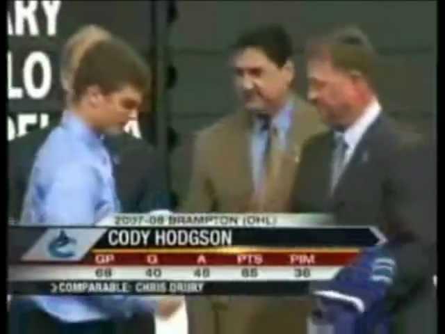 Cody Hodgson traded