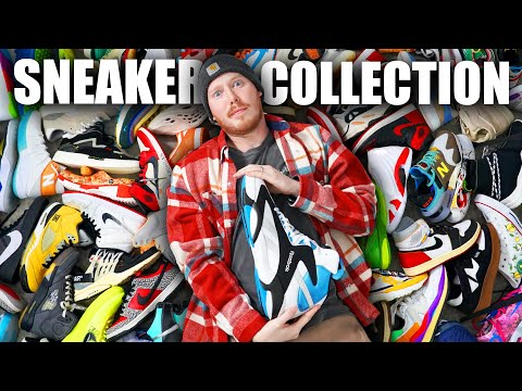 My ENTIRE Sneaker COLLECTION! 2021