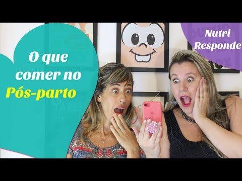 O QUE COMER NO PUERPÉRIO  #nutriresponde 01  feat Nutricionista Analucia