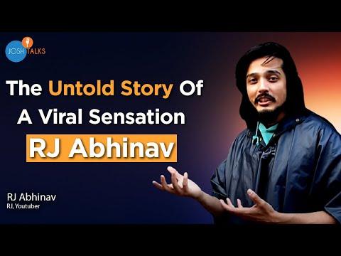 Mimicking Others Gave Me My Own Voice   RJ Abhinav   Josh Talks