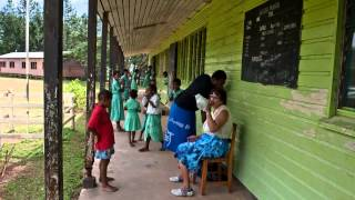 Kadavu Island Fiji  City new picture : Visiting Vunisei District School from Papageno Resort Kadavu Island Fiji