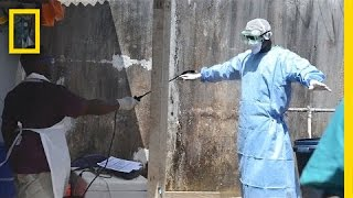 Inside An Ebola Clinic In Liberia