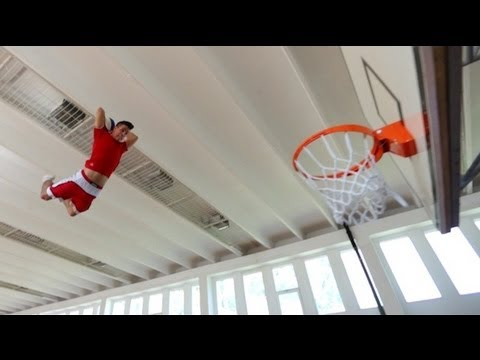 A Different Sort of Basketball Slam Dunk