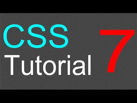 More on Classes in CSS