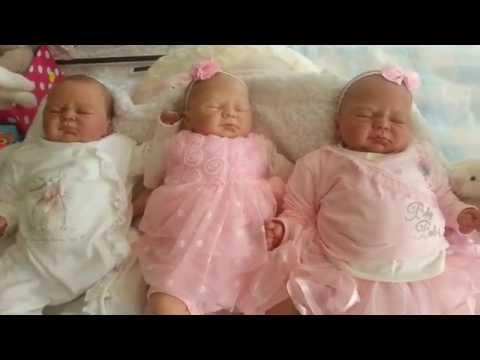 Video Christina'sReborns - Ivy Collection (3 babies) download in MP3, 3GP, MP4, WEBM, AVI, FLV January 2017