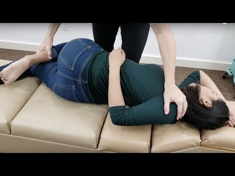 HEAD TO TOE SPINAL ADJUSTMENT - Sharp Rib Pain Problem SOLVED