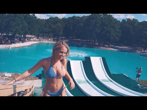 People Riding Epic Water Slide Is Pure Summer