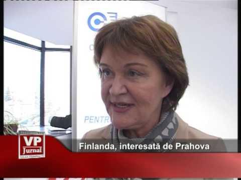 Finlanda, interesată de Prahova