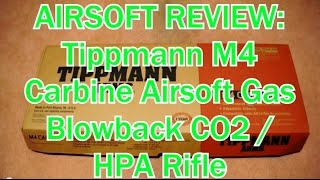 https://www.youtube.com/watch?v=WUOaVFmUsw4 - Shooting Test What's up guys, I put out a shooting test of the Airsoft M4 Tippman Rifle and now I am bringing y...
