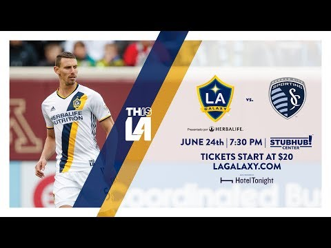 Video: TEASER: LA Galaxy vs. Sporting KC | June 24, 2017