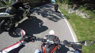 Uscita a Cima Montegrappa in compagnia di una R1 a carburatori, z750, dorsoduro1200. Instagram: -instagram:...