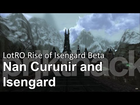 rise of isengard - Travelling through Nan Curunir and into Isengard. The area is a bit larger than in this video as well, as on my way in I skipped an Uruk camp to the right, a...