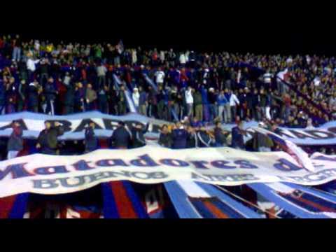 Tigre 1 vs Racing 1 , alto tema - La Barra Del Matador - Tigre