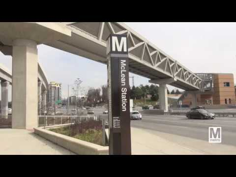 Art in Transit: McLean Station - opens in new window