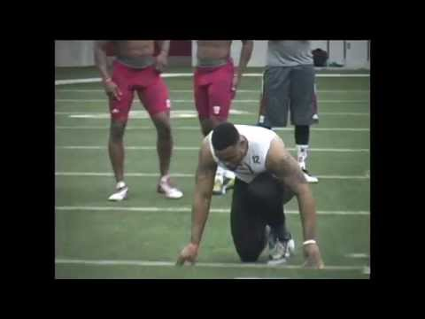 Stephen Houston Pro Day video.