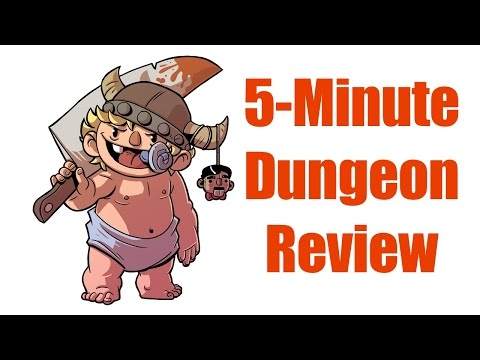 5 Minute Dungeon Review, FIRST LOOK, Wiggles 3D Co-Op Card Game on Kickstarter Now