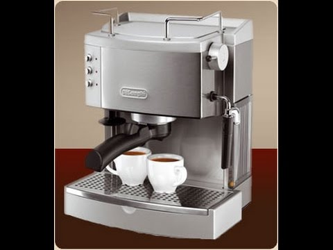 DeLonghi EC702 15-Bar-Pump Espresso Maker, Stainless Unbox / Review Random Curiosities Episode 15