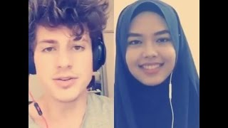 We Don't Talk Anymore - Charlie Puth & Sheryl Shazwanie (duet on Smule app) Video