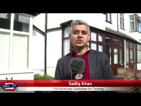 Sadiq Khan's 30 second election pitch