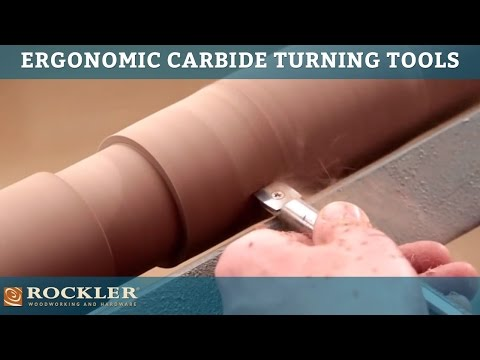 Rockler Full Line of Ergonomic Carbide Turning Tools