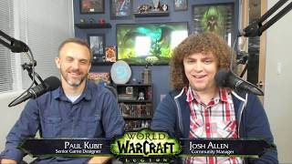 We sat down with Lead Game Designer Paul Kubit to answer your World of Warcraft questions on patch 7.2.5 content including: Black Temple Timewalking, the Deaths of Chromie, Trial of Style, The Great Gnomeregan Race, and more!
