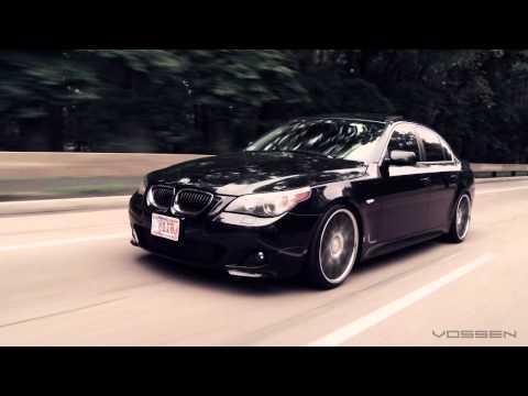 BMW 5 Series E60 on 20