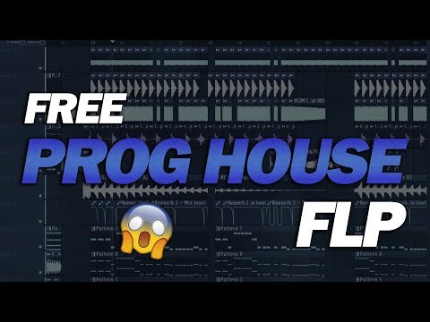 Free Prog House FLP: by Tom Berx & EDGR [Only for Learn Purpose] (видео)