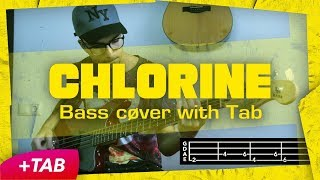 twenty one pilots: Chlorine [BASS COVER +TAB]