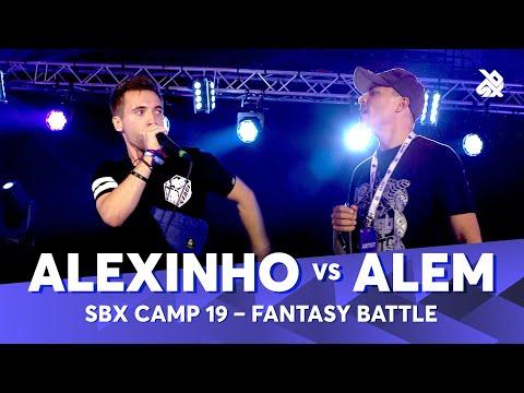 ALEXINHO vs ALEM | Fantasy Battle Rematch | SBX Camp 2019
