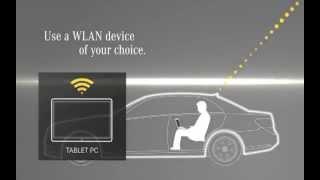 Mercedes-Benz Accessories: InCar Hotspot