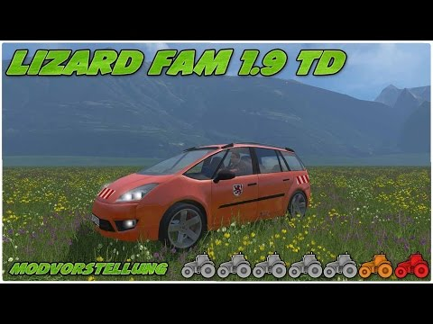 Lizard Fam 1.9 TD municipal official cars v1.1