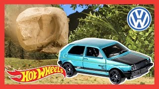 Hot Wheels Volkswagen Rainy Day Dilemma | Hot Wheels