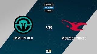 Immortals vs mouz, game 1