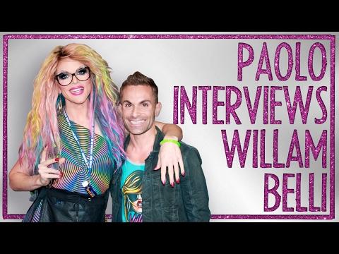 Drag Superstar WILLAM on how to 'Suck Less' & RuPaul's Drag Race tea (видео)