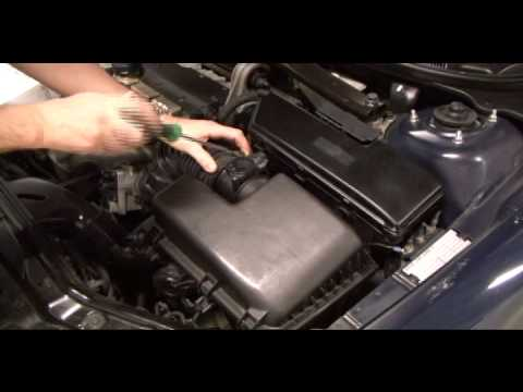How to change the air filter in a volvo v70