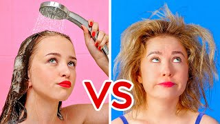 Video PROBLEMAS DE CABELLO LARGO VS. CORTO || Situaciones incómodas por 123 GO! Spanish MP3, 3GP, MP4, WEBM, AVI, FLV September 2019