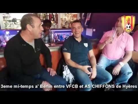 LES CHIFFONS A BERLIN AVEC VETERANS FLAMBEAU CLUB BERLIN