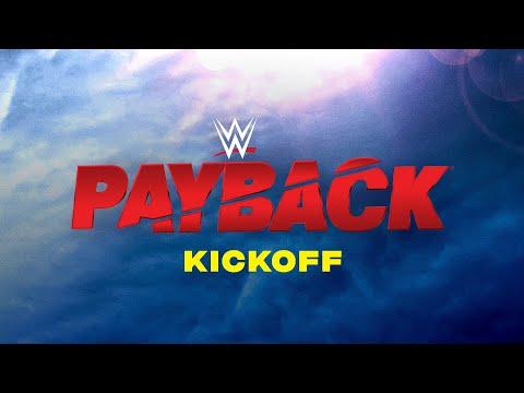 WWE Payback Kickoff: Aug. 30, 2020