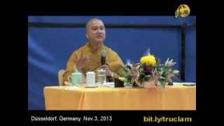 Biết Chướng, Vượt Chướng (vấn đáp 2) - Thầy. Thích Pháp Hòa - Düsseldorf, Germany (Nov.3, 2013)