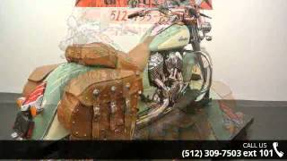9. 2015 Indian Chief Vintage Willow Green / Ivory Cream  - D...