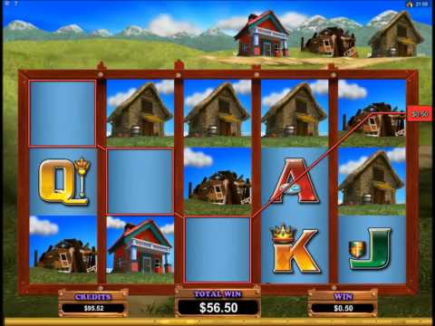 Piggy Fortunes slots win during Big Bad Wolf Free Spins