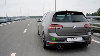 UNT Design modified VW Golf MK7 R 400HP w/ Armytrix Valvetronic Turbo-Back Exhaust