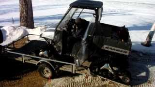 7. polaris ranger 2007, 700 cc
