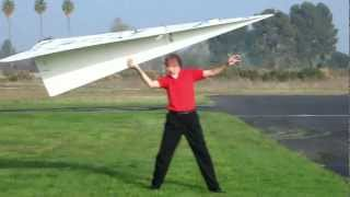 World Record Large RC Paper Airplane