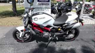 5. 2013 Ducati Monster 796 ABS at Euro Cycles of Tampa Bay