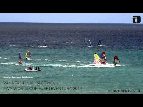 PWA Slalom World Cup Fuerteventura 2014 - Winners Final 1