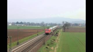 Hirschberg an der Bergstr Germany  city photos : Züge bei Heddesheim / Hirschberg a. d. Bergstrasse Teil 1/3