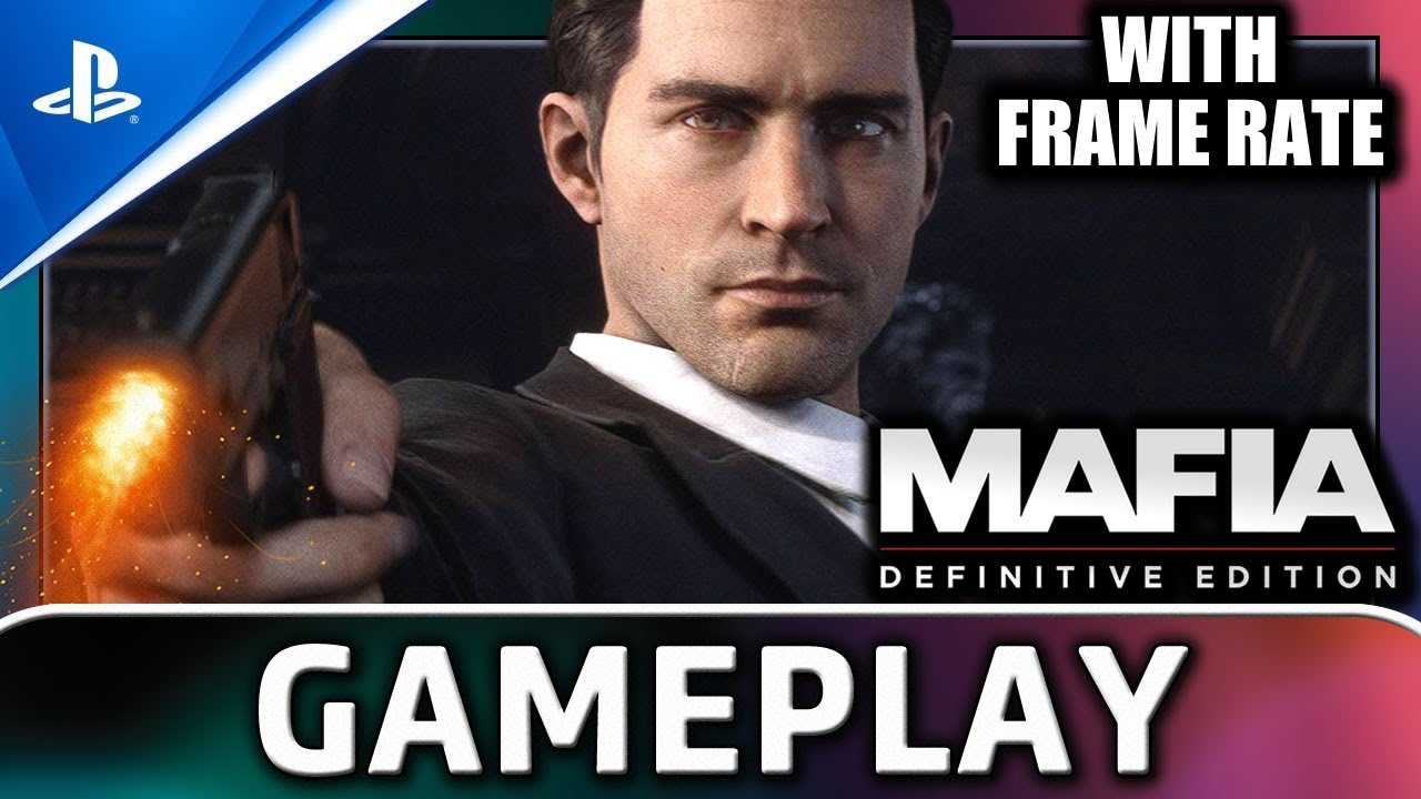 Mafia: Definitive Edition | PS4 Gameplay & Frame Rate