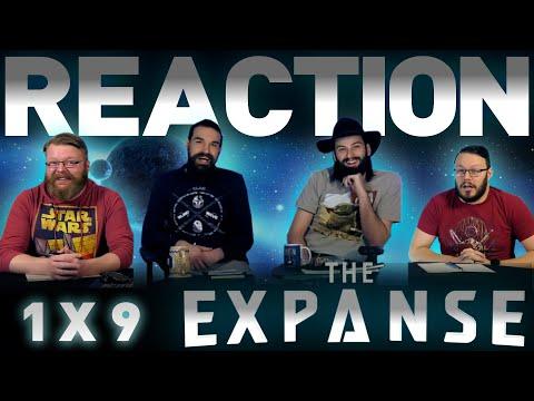 "The Expanse 1x9 REACTION!! ""Critical Mass"""