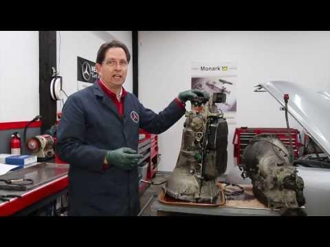 Fixing a Mercedes 722.3 Transmission Shift Rod Seal Leak